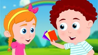 Colors Song | Learning Videos & Schoolies Nursery Rhymes for Kids