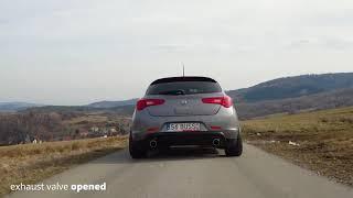 Alfa Romeo Giulietta  - Ulter-Sport Electric Valve Exhaust System