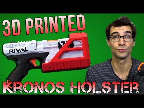 Form Over Function? Rival Kronos Holster Review! 3D Printed Solid Kronos Holster