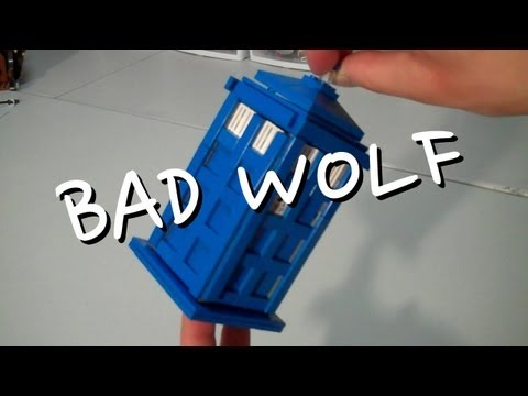 How to build LEGO Tardis Bad Wolf