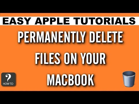 How To Permanently Delete Files on Your Mac | Easy Apple Tutorials