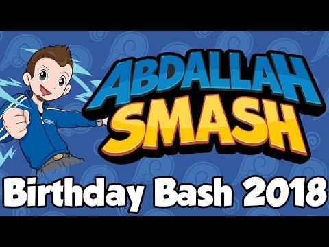 Abdallah Smash - Birthday Bash 2018! [🔴LIVE]