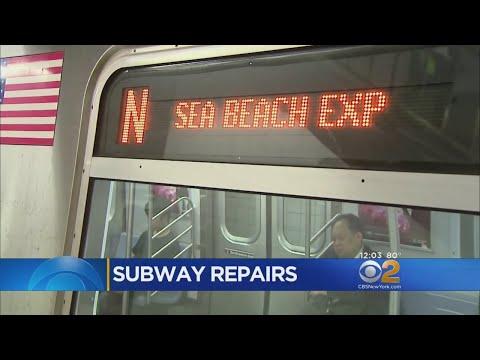 Subway Work Forcing Southbound N Train Station Skips Through Brooklyn