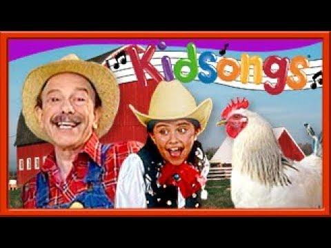 Best Farm Songs for Kids |Kid Songs Videos | Old MacDonald &  Farmer in the Dell | Kidsongs TV Show