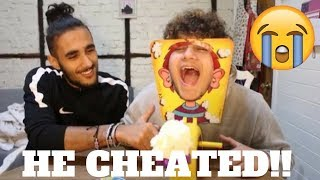 Crazy Pie Face Challenge!!!