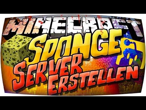 ❧ Minecraft SPONGE SERVER Erstellen ❧ MODS UND PLUGINS gleichzeitig Installieren ! Forge Spongeforge