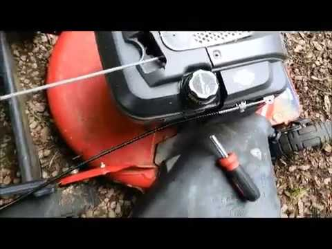 Replace Repair Throttle Control Cable Snapper Lawn Mower