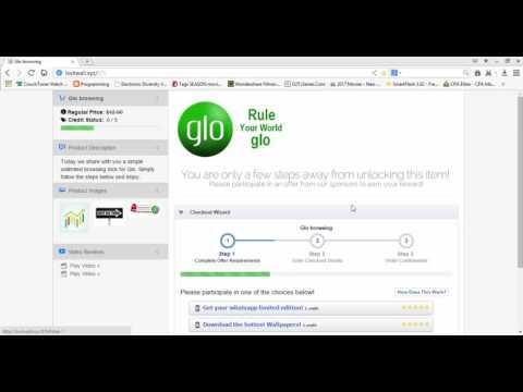glo unlimited data plan