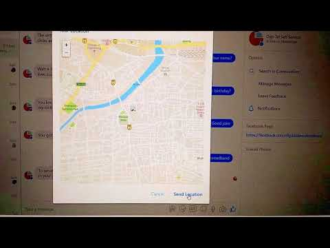(Check description) Get User Location from Facebook Messenger using APIAI and your webhook