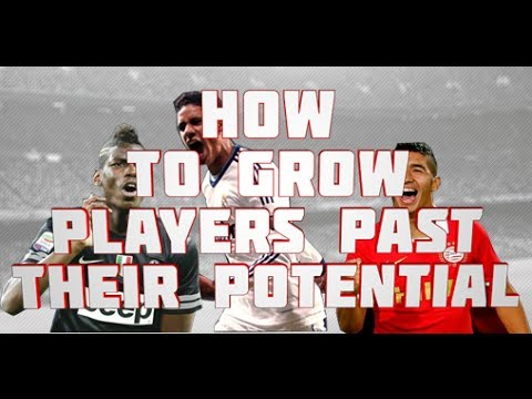 FIFA 14 Tutorial - How To Grow Players Faster and Beyond Potential