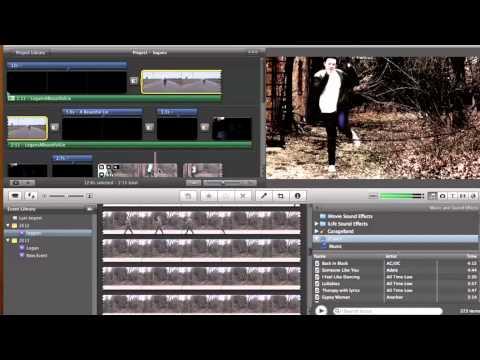 Music Video Production - iMovie