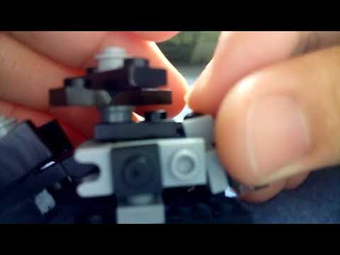 Lego Mini Transformers Decepticon Blackout Part 1