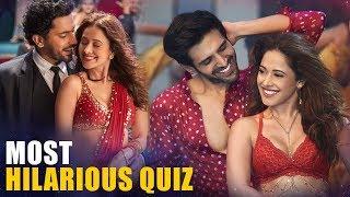 Kartik Aaryan | Nushrat Bharucha | Sunny Singh | Quiz | Love Triangles | Sonu Ke Titu Ki Sweety
