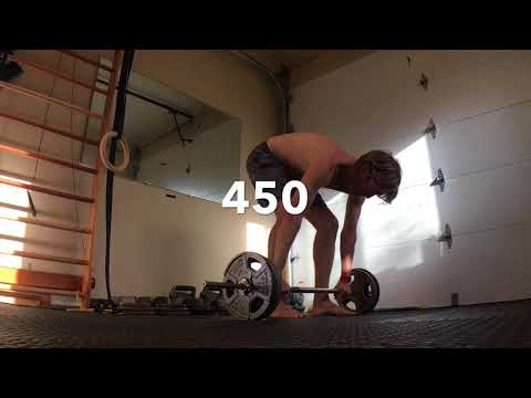 1000 x 100lbs Deadlifts in One Month