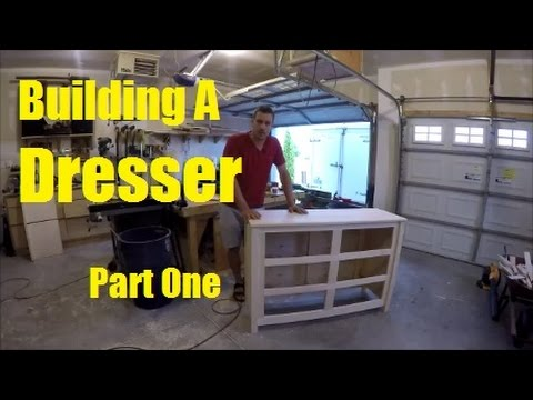 Building A Dresser Part 1 - Top, Sides, & Face Frame