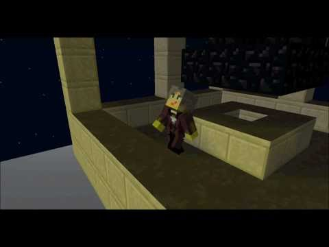 The 11th doctor's regeneration - minecraft  (part one)