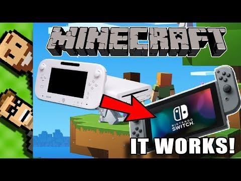 Wii U to Switch: How to TRANSFER your MINECRAFT WORLD
