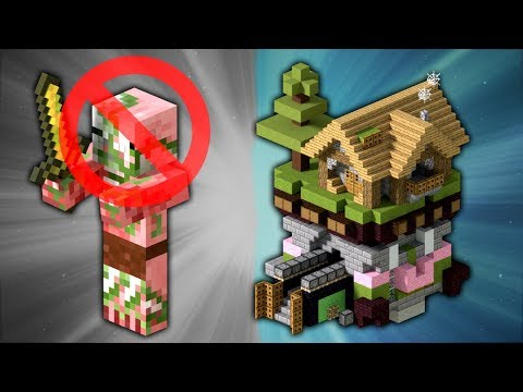 How to Build a Zombie Pigman Proof House | Minecraft
