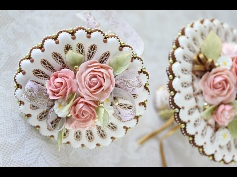 How to Assemble 3-D Cookie Wedding Bouquets (Part 2)