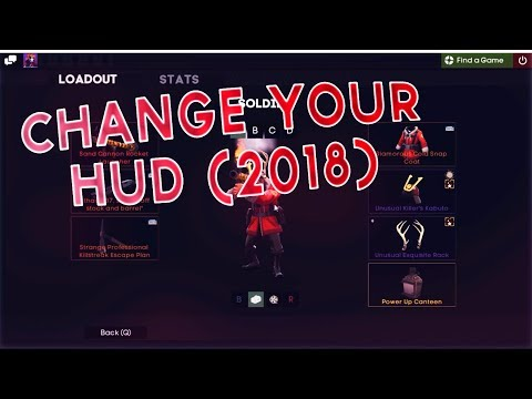 TF2 - How To Install A Hud (In 2018) + The Hud I use!