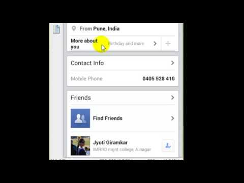 How to update relationship status in Facebook android app