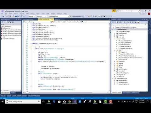 How to rename Controller in ASP.NET CORE || ASP.NET MVC