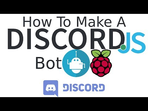 How to make a discord bot with discord.js on raspberry pi 3