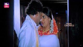 Parvathi Lokesh & Ravichandran First Night Love Scene   Telugu Interesting   Mana Cinemalu