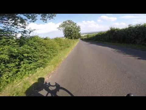 Road Bike High Speed Wobble 1st person view ( Shimmy )