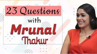 Mrunal Thakur answers 23 Questions in a SWIFT | Super 30 | Hrithik Roshan