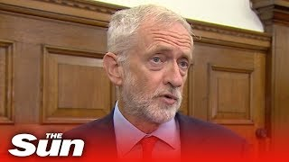 Jeremy Corbyn vows to bring down Boris Johnson and lead temporary government