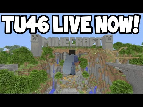 LIVE! - Minecraft Xbox - TU46 New Tutorial World + Features! COME JOIN!
