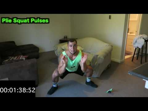 Intense 5 Minute At Home Leg Workout