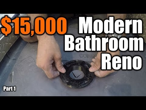 $15,000 Modern Bathroom Renovation  1 | THE HANDYMAN |