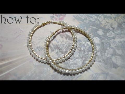 DIY : Pearl earrings
