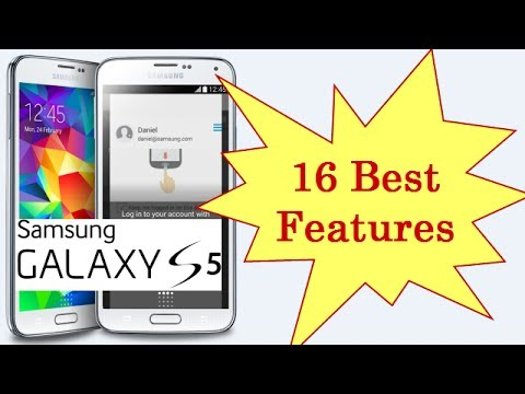 16 Best Features Of Samsung Galaxy S5 In 5 Minutes