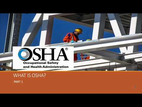 Who Is OSHA: Occupational Safety & Health Administration