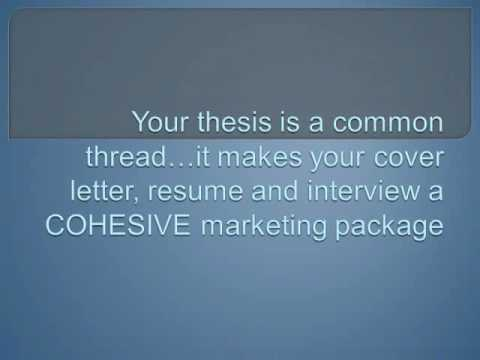 Cover Letters for College Students and Recent Grads (Part 1)