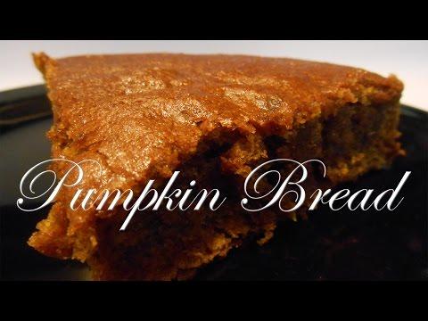 High Carb Vegan Pumpkin Bread Recipe!
