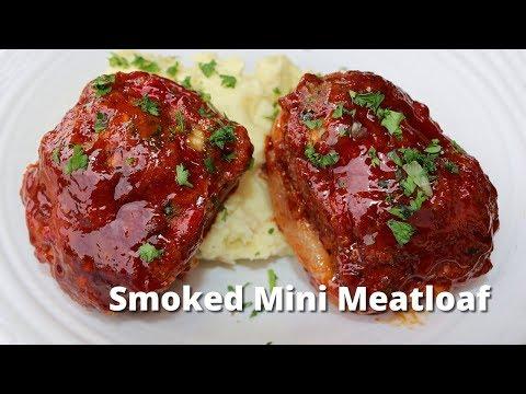 Smoked Mini Meatloaf   BBQ Meatloaf Recipe on Yoder Pellet Smoker