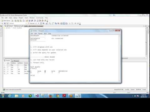 ADO.NET Online Class Day 6 - Working with DataReader - Updating Record