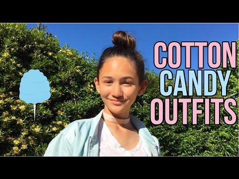 Cotton Candy Inspired Outfits! | Malia Jade