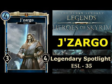 The Elder Scrolls Legends - #35 - J'Zargo! (Legendary Scroll?) Heroes of Skyrim