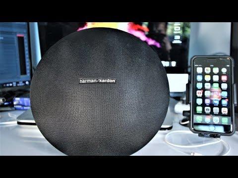 iPhone 7 Plus Music quality playback and Conference call via Bluetooth Harmon Kardon Onyx Studio 3