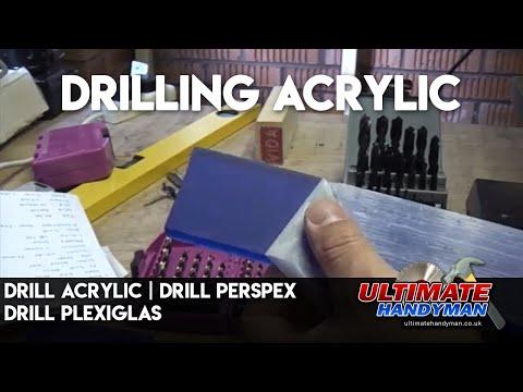 Drill acrylic | Drill Perspex | Drill Plexiglas