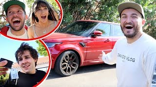 SURPRISING VLOG SQUAD WITH TWO NEW CARS!!