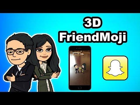 Snapchat: 3D Friendmoji with TaylorSee | 2018