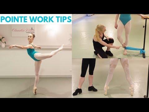 | POINTE WORK TIPS |