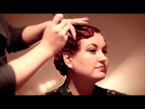 Fabulous Finger Waves - 1920s & 1930s finger wave tutorial