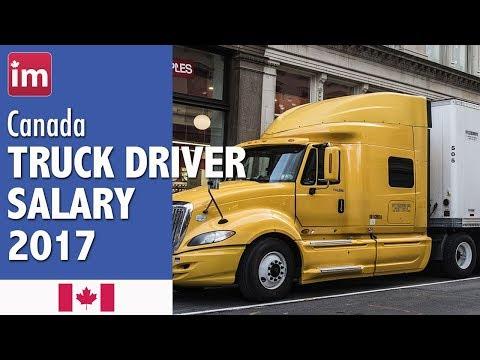 Truck Driver Salary in Canada - Jobs in Canada 2017